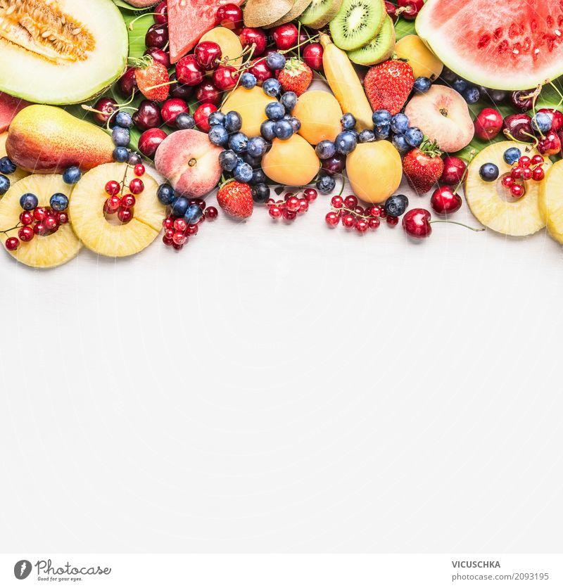 Summer fruit for healthy food Food Fruit Apple Orange Nutrition Organic produce Vegetarian diet Diet Style Design Healthy Healthy Eating Berries Vitamin