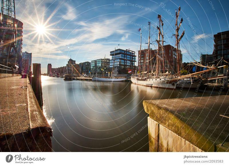 Sandtorhafen / Traditional Ship Port Hamburg - Hafencity Lifestyle Luxury Style Design Sailing Sailboat Sailing ship Vacation & Travel Tourism Freedom