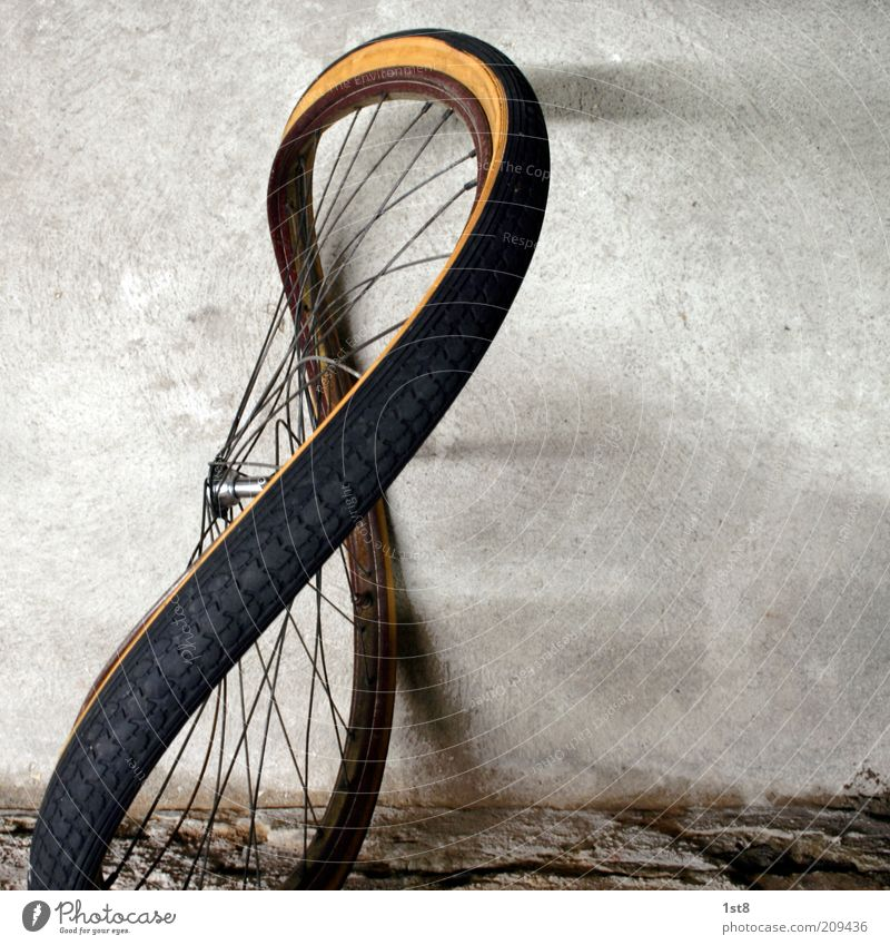 '52 8 Art Work of art Sculpture Transport Means of transport Passenger traffic Road traffic Bicycle Old Beautiful Uniqueness Wheel Wheel rim Hub Tire steel rim