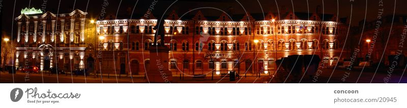 Europe Places England Illuminate Great Britain Housefront Middlesbrough
