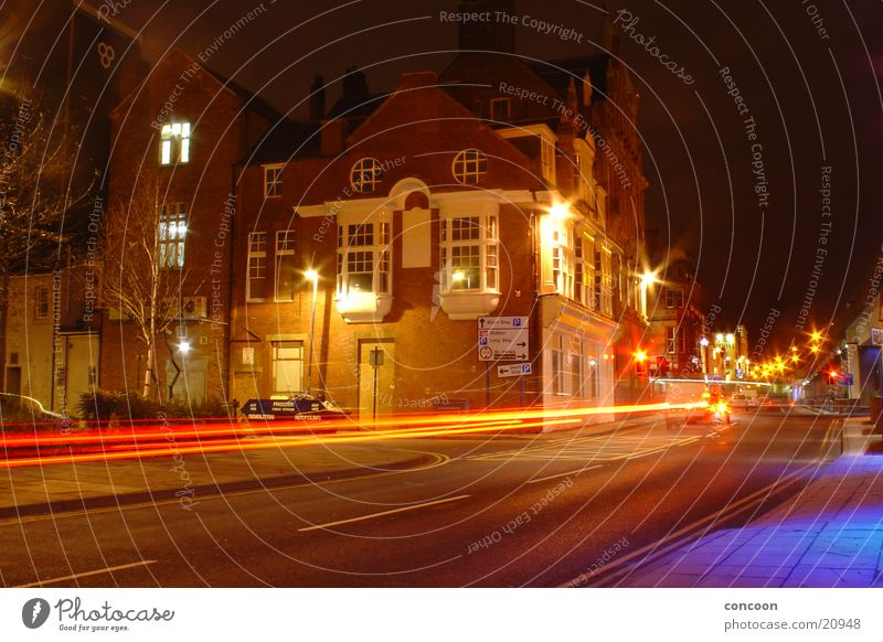 Street Car Speed Europe Industrial Photography England Great Britain Middlesbrough