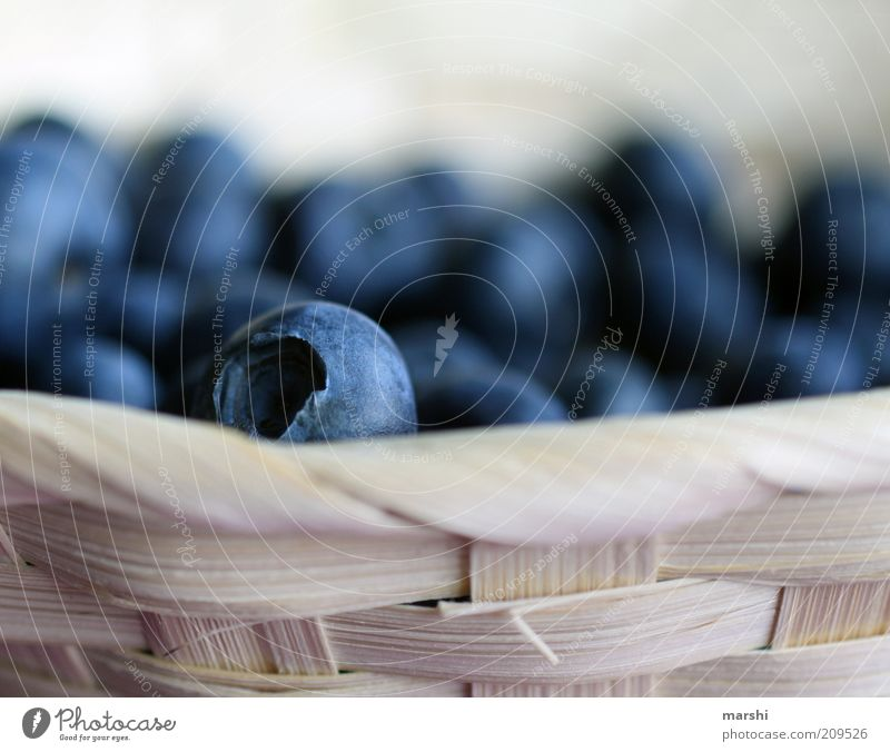 Blue Nutrition Healthy Food Fruit Delicious Berries Basket Snack Tasty Plaited Blueberry
