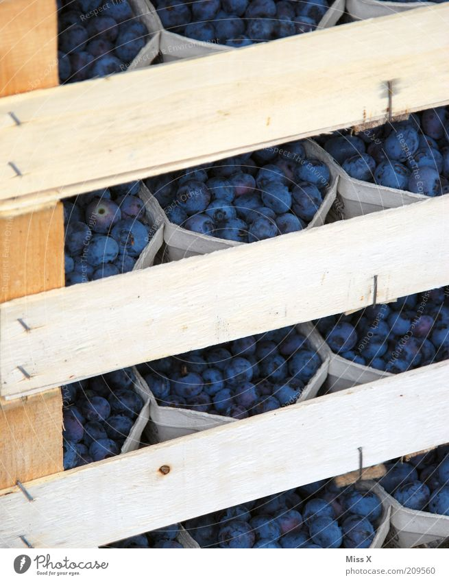 Blue Nutrition Small Food Fruit Closed Fresh Sweet Delicious Wooden board Organic produce Bowl Berries Juicy Packaging Packaged