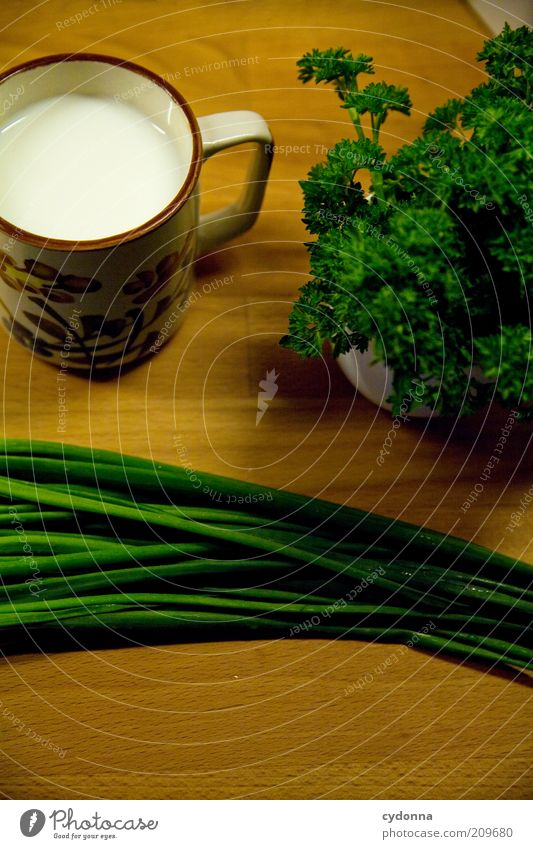 organic Herbs and spices Nutrition Organic produce Vegetarian diet Diet Milk Cup Healthy Calm Esthetic Idea Inspiration Parsley Chives Ingredients Fresh Supply