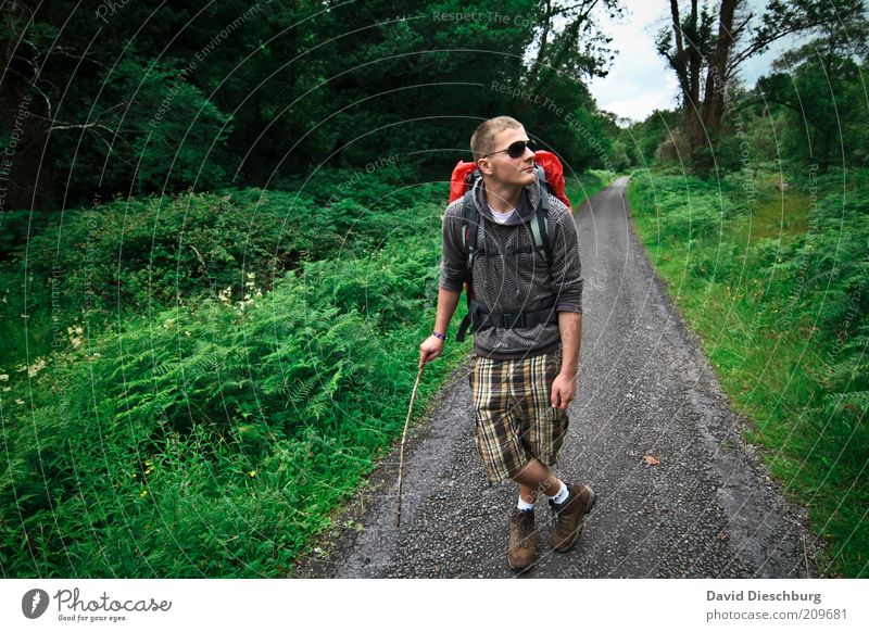 Hiking is the miller's desire Leisure and hobbies Vacation & Travel Trip Adventure Freedom 1 Human being 18 - 30 years Youth (Young adults) Adults Nature Plant