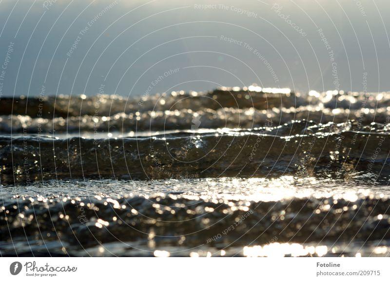 Nature Water Sky Ocean Summer Landscape Bright Coast Waves Glittering Environment Wet Horizon Near Natural Elements