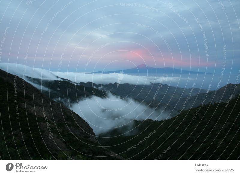 Sky Summer Calm Emotions Landscape Earth Fog Weather Esthetic Longing Wanderlust Valley Heavenly Haze Optimism Volcano