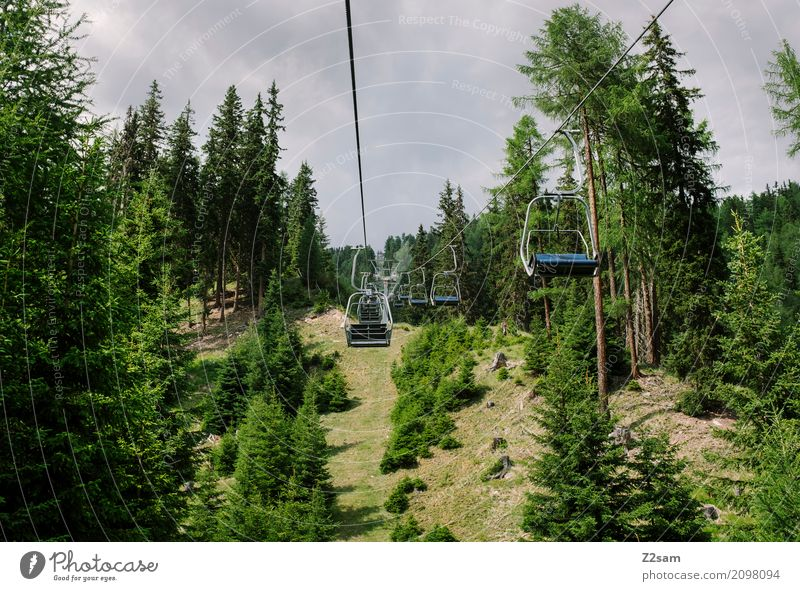 off goes the mail Cycling Environment Nature Landscape Sky Summer Forest Alps Mountain Glacier Ski lift Driving Tall Natural Gloomy Patient Loneliness