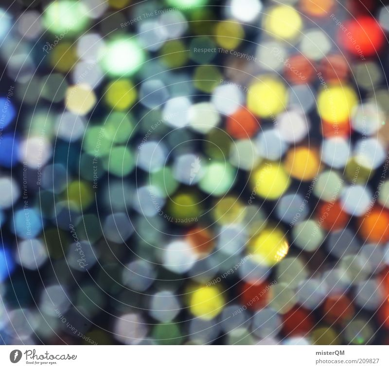 Lights. Art Esthetic Multicoloured Illuminate Glittering Many Small Point Versatile Creativity Idea Prismatic colors Beautiful Decoration Blur Mosaic