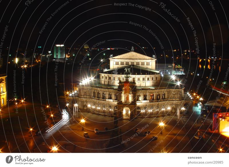 Art Architecture Europe Culture Dresden Opera house Opera Saxony Renaissance