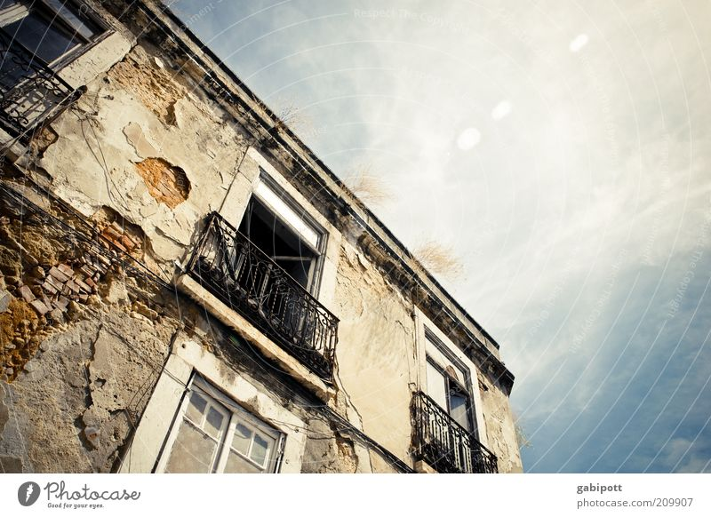 Old Window Building Architecture Door Poverty Facade Authentic Broken Change Transience Wild Derelict Decline Balcony