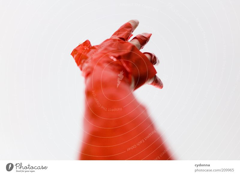 Human being Hand Red Life Style Dream Arm Design Crazy Fingers Empty Future Uniqueness Target Exceptional Longing