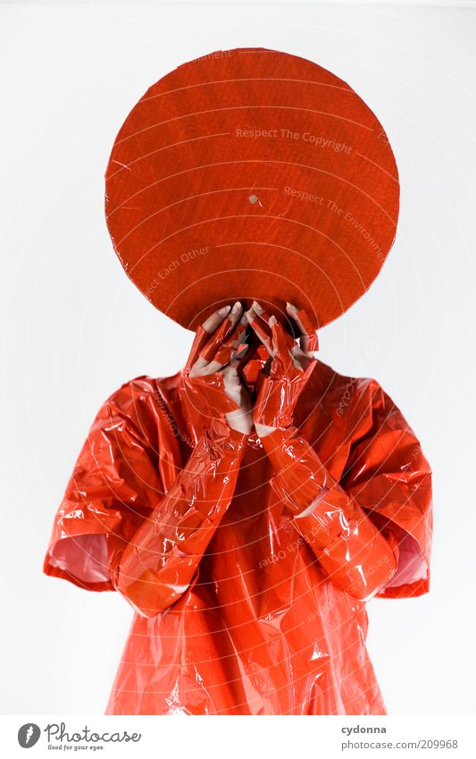 Human being Red Style Music Head Orange Design Crazy Lifestyle Circle Future Change Culture Uniqueness Mysterious Exceptional