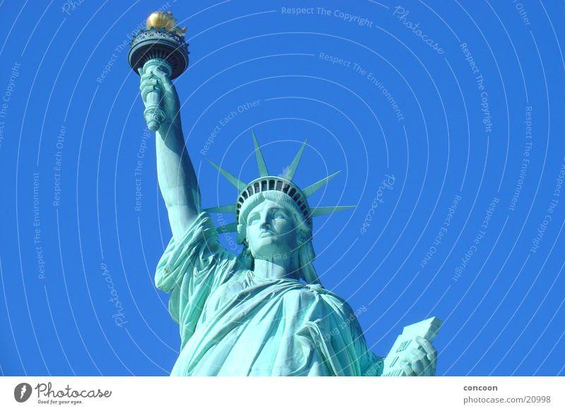 Freedom USA Symbols and metaphors New York City North America New World