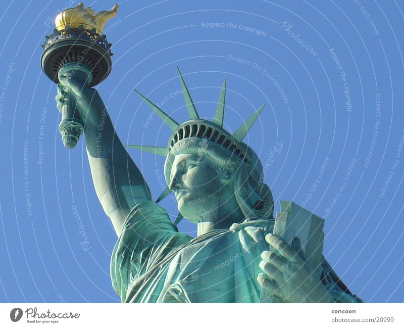 Statue of Liberty New York City Americas Symbols and metaphors North America Freedom USA