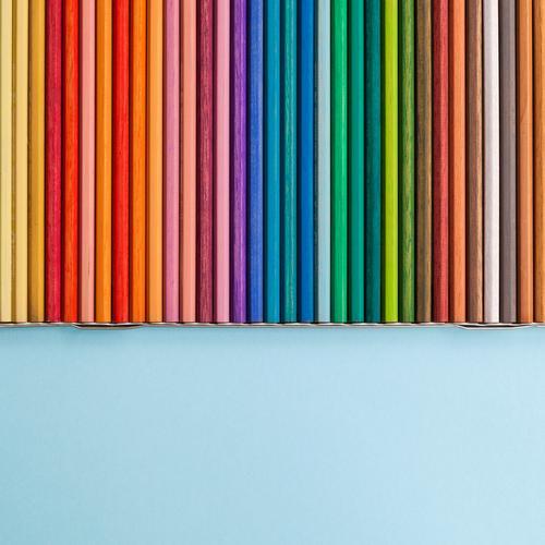 Coloured pencils Leisure and hobbies Kindergarten School Academic studies Office work Workplace Advertising Industry Meeting Team Art Painter Stationery Paper