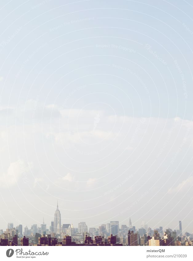 Empire. House (Residential Structure) Esthetic New York City USA Skyline Town Populated Economy World power Tall Chrysler Building Stick out Free enterprise