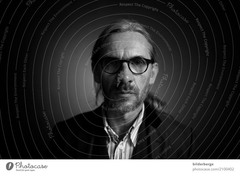 portrait Lifestyle Photographer Man Adults Hair and hairstyles Face Eyes Art Artist Eyeglasses Emotions 35mm Selfie Portrait photograph Black & white photo