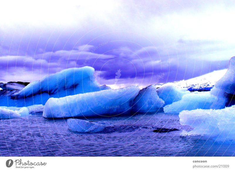 Water Cold Ice Frozen Iceland Bizarre Glacier Iceberg