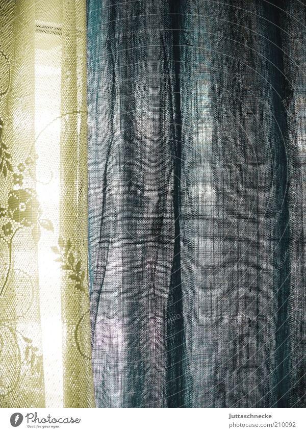 Blue Window Decoration Living or residing Interior design Cloth Drape Transparent Hang Window pane Curtain Vista Cotton Light Translucent