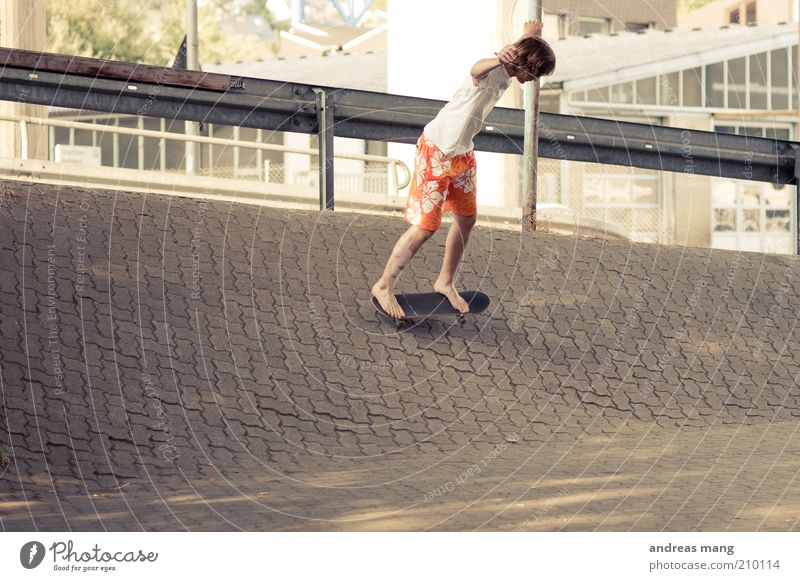 This is where I live | No. 002 Style Sports Skateboarding Young man Youth (Young adults) Swimming trunks Driving Fitness Athletic Free Hip & trendy Town Joy