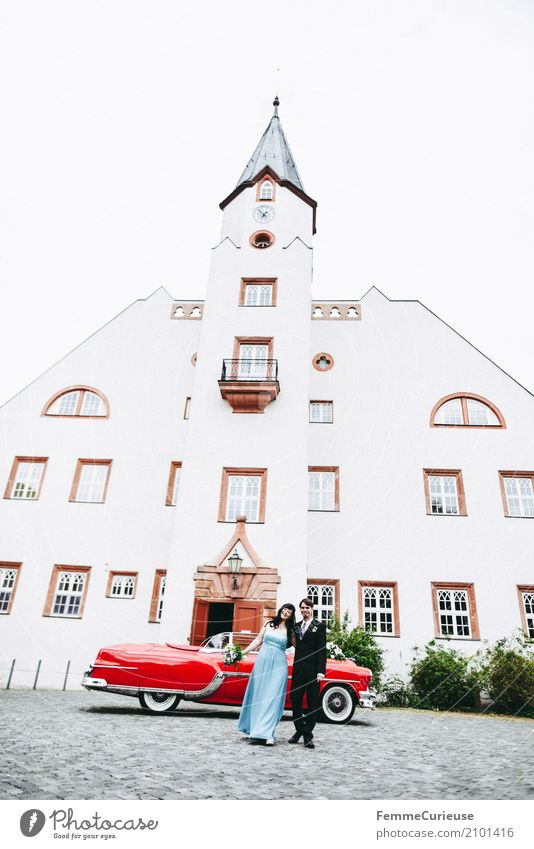 Love is in the air (82) Masculine Feminine Woman Adults Man Human being 18 - 30 years Youth (Young adults) 30 - 45 years Happy Historic Buildings Castle