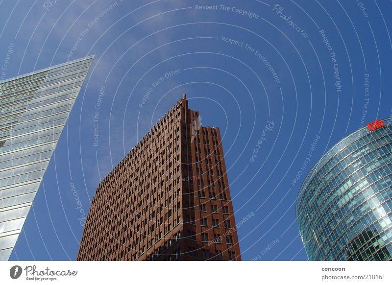 Berlin Building Architecture Glass Concrete High-rise Tall Modern New Steel Potsdamer Platz