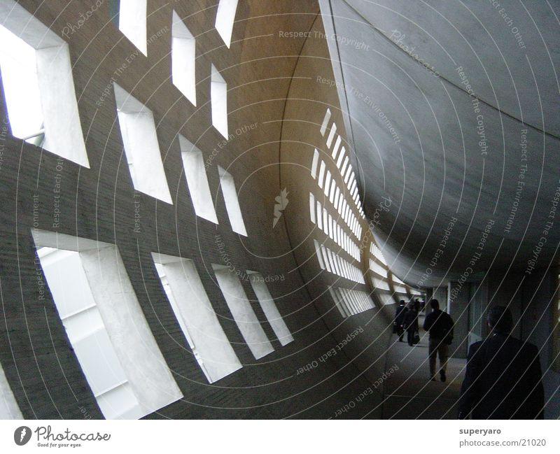 Paris Tunnel Aviation Airport de Gaulle Corridor