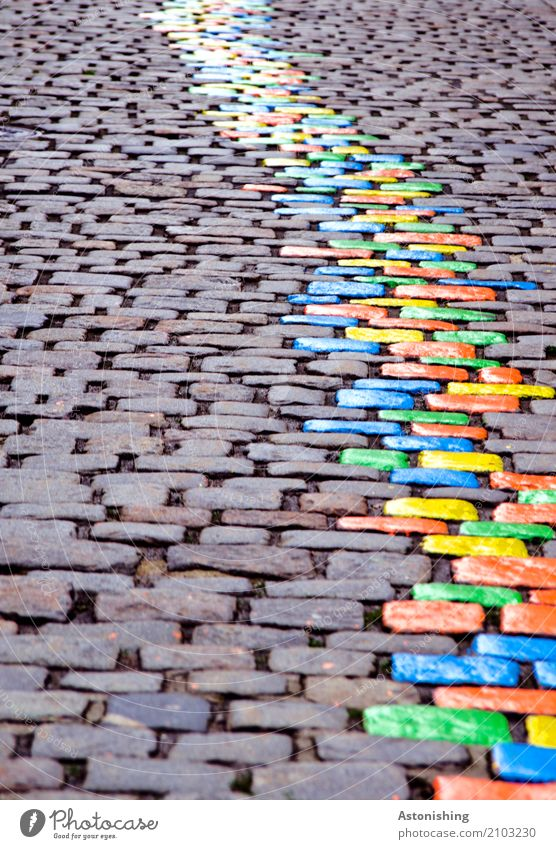 Nature Blue Town Colour Beautiful Green Street Environment Yellow Art Stone Gray Orange Line Transport Places