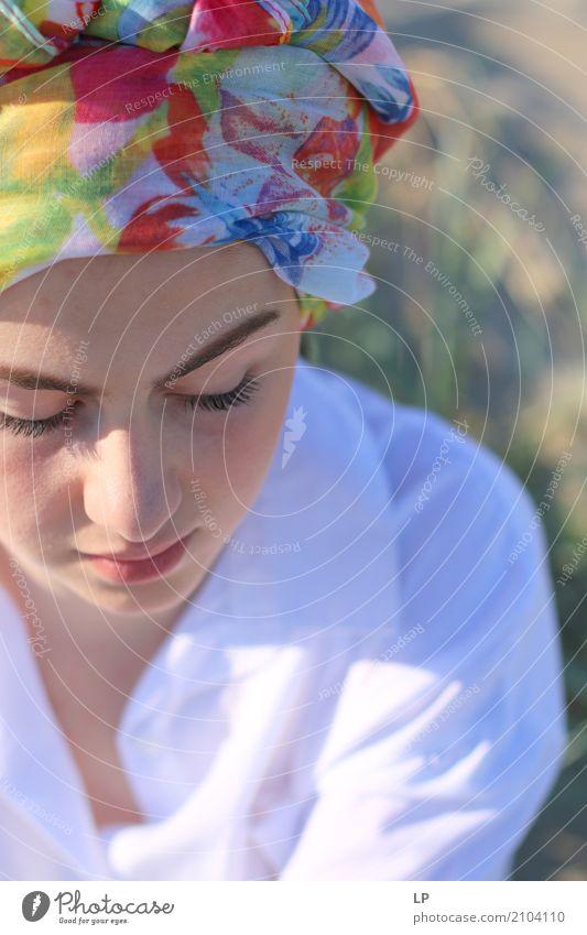 girl with turban Lifestyle Luxury Elegant Style Design Beautiful Cosmetics Alternative medicine Wellness Harmonious Well-being Contentment Senses Relaxation
