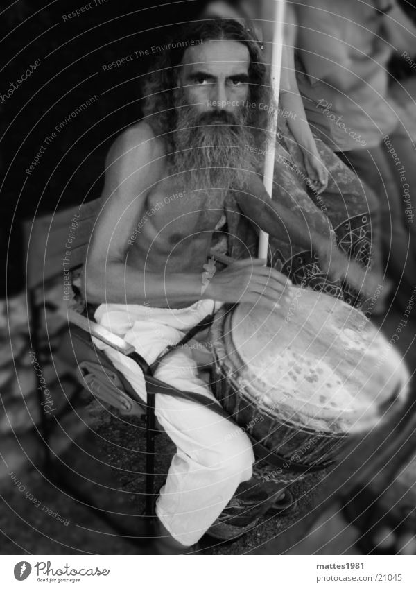 Man Gray Facial hair Drum Drummer