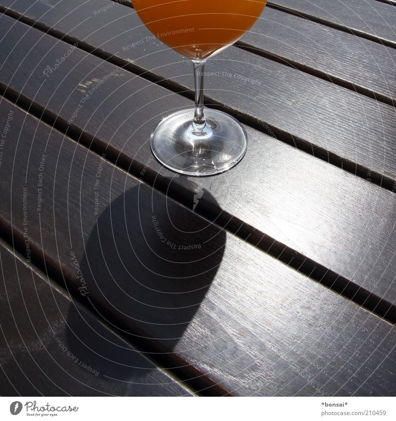 Style Wood Orange Glass Table Fresh Beverage Sweet Round Fluid Fragrance Nutrition Beautiful weather Juicy Section of image