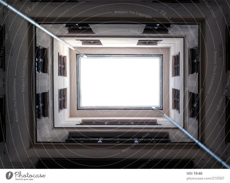 Sky White House (Residential Structure) Dark Architecture Gray Building Line Facade Arrangement Esthetic Authentic Historic Upward Vertical
