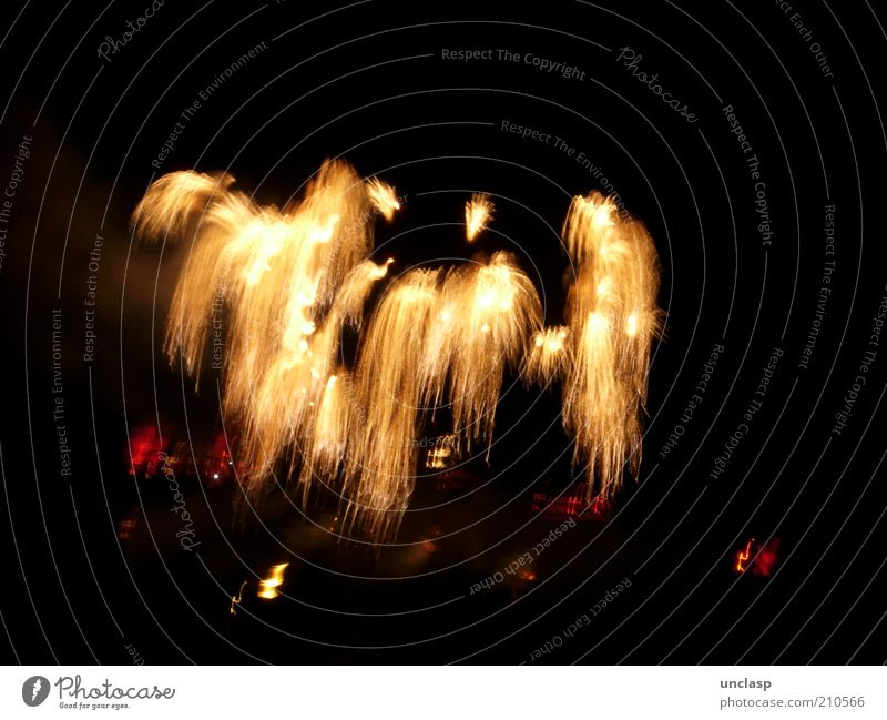 fireworks Lifestyle Joy Happy Vacation & Travel Night life Entertainment Event Feasts & Celebrations Shows Outdoor festival Emotions Euphoria Dream Colour photo