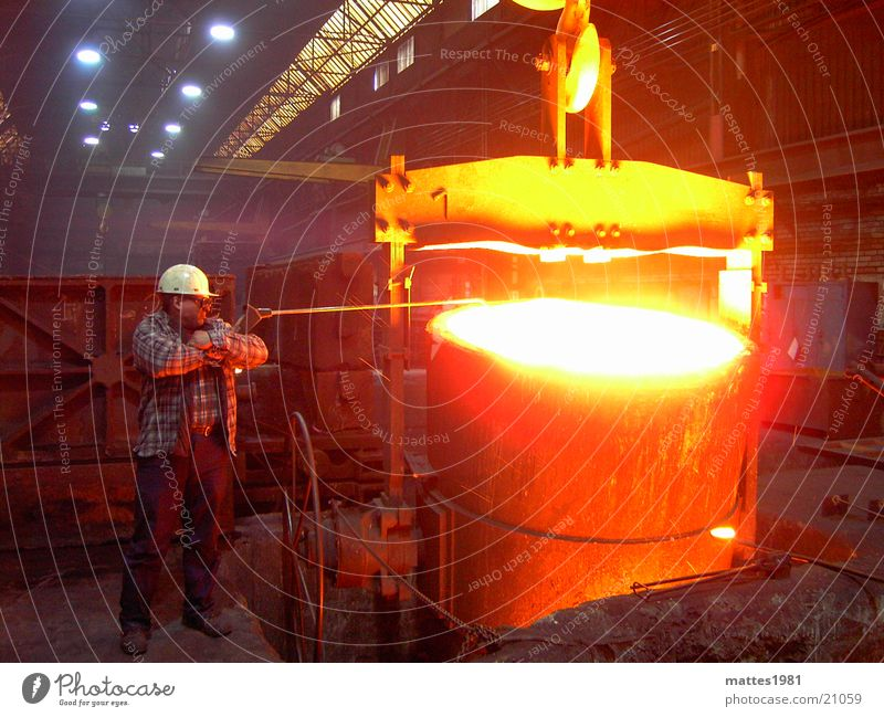 Sun Work and employment Warmth Rain Industry Physics Hot Heater Working man Steam Glow Embers Production Foundry
