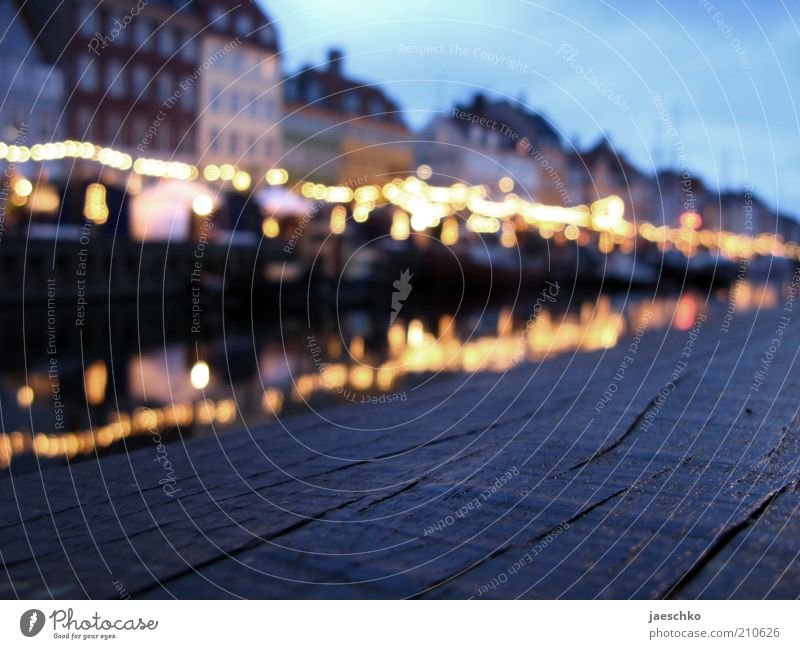 City House (Residential Structure) Line Moody Tourism Harbour Historic Jetty Landmark Denmark Tourist Attraction Old town Channel Mole Blur Copenhagen