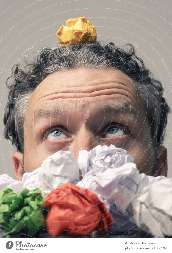 Business Office Power Creativity Idea Symbols and metaphors Inspiration Workplace Innovative Joke