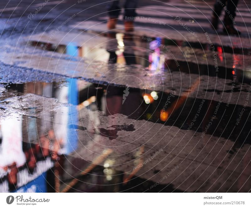 The Space Between. Esthetic Chaos Leisure and hobbies Joy Society Identity Whimsical Moody Future New York City Times Square Night life Party night Shopaholic