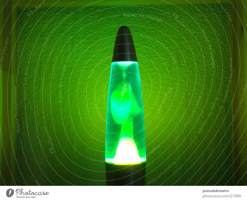 Anneliese Lava lamp Green Light Style Glimmer Things Blue Movement Light (Natural Phenomenon) Colour Blur Bright
