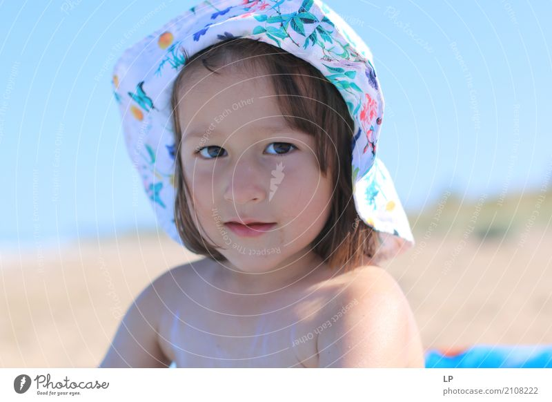 i look into your eyes Lifestyle Well-being Contentment Vacation & Travel Summer vacation Beach Island Parenting Education Kindergarten Human being Child Baby