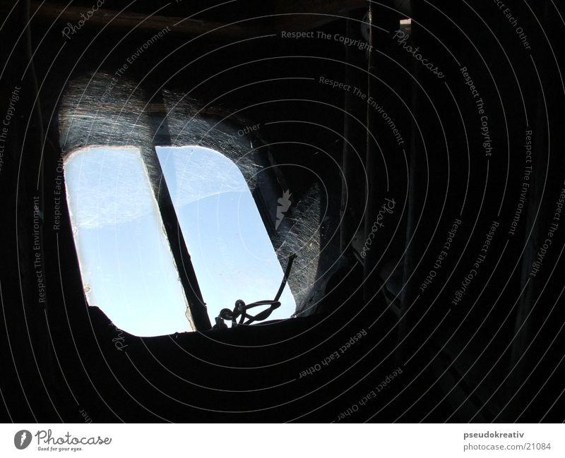 Norbert Window Spider's web Dirty Vista Attic Hatch Sky Old