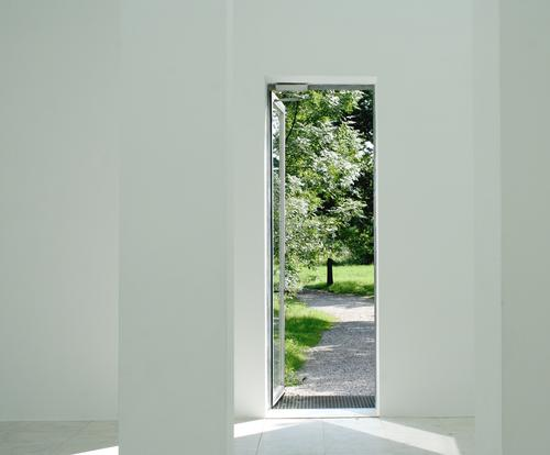 summer moments Calm Leisure and hobbies Summer Garden Museum Culture Nature Weather Beautiful weather Tree Park Gate Architecture Door Stone Concrete Line