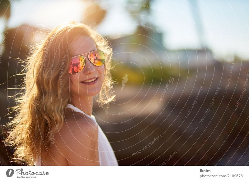 Human being Woman Vacation & Travel Youth (Young adults) Young woman Summer Beautiful Joy Far-off places 18 - 30 years Adults Life Lifestyle Healthy Style Happy