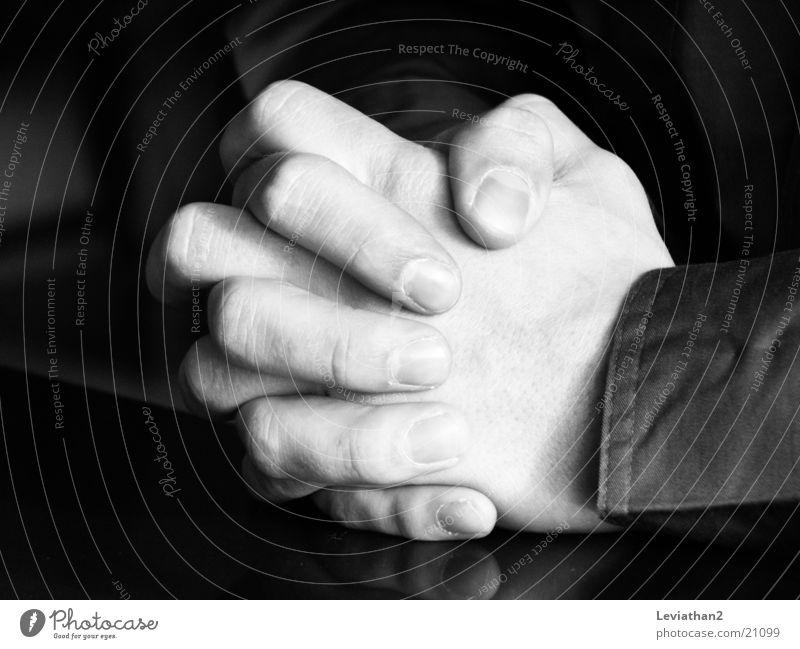 hands Hand Prayer Folded Man