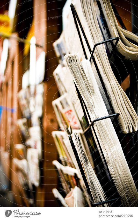 i read the news today ... Media Print media Newspaper Magazine Brown Yellow Black White Communicate Life Information Kiosk Printed Matter Advertisement