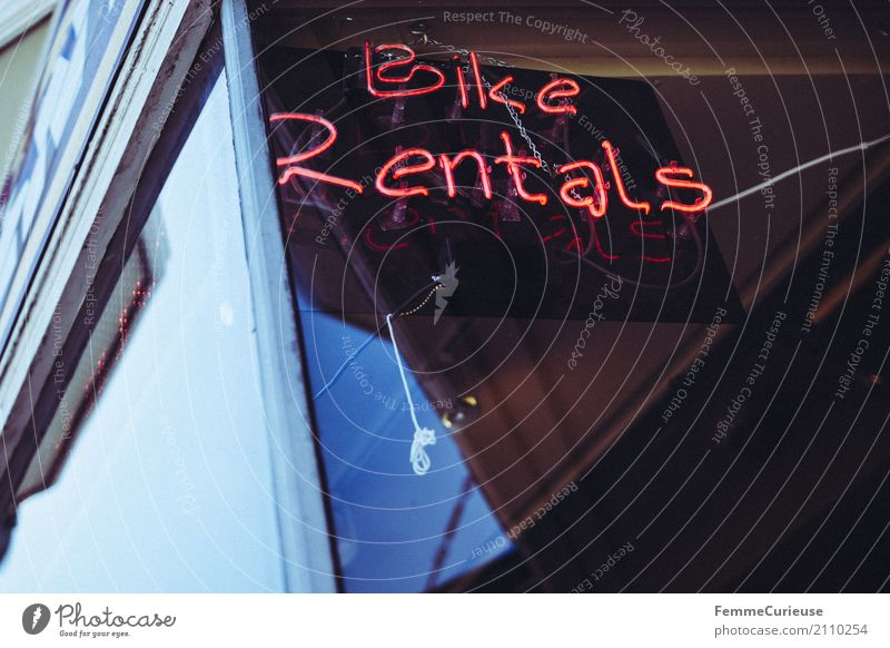 Roadtrip West Coast USA (200) Sign Characters Digits and numbers Signs and labeling Signage Warning sign Movement rental bestow Bicycle Bike Rental Shop