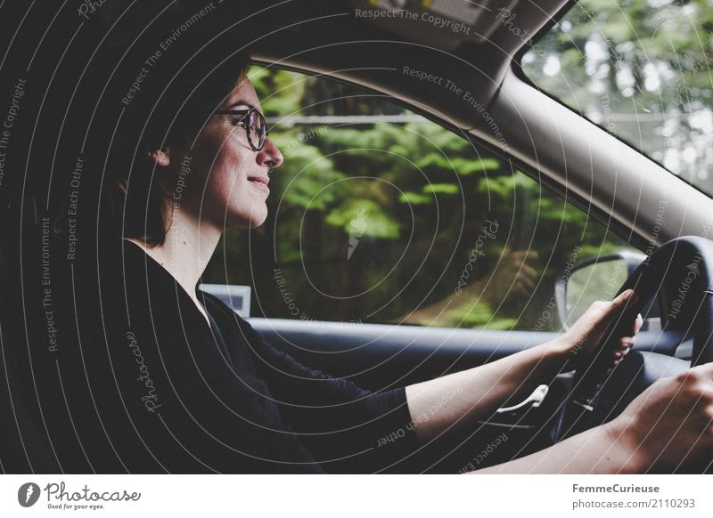 Human being Woman Vacation & Travel Youth (Young adults) Young woman Hand 18 - 30 years Travel photography Adults Movement Feminine Trip Transport Car Smiling