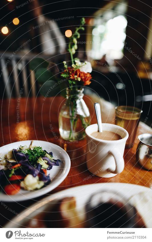 Roadtrip West Coast USA (206) Food Nutrition To enjoy Coffee Vegetable Breakfast Breakfast table Brunch Café Restaurant Sidewalk café Flower Table decoration