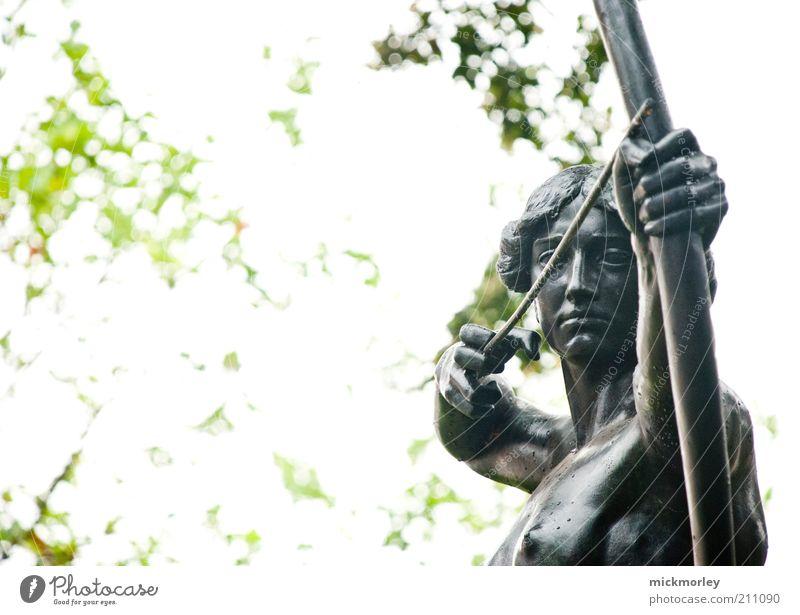 Antique marksmanship Feminine 1 Human being Art Work of art Sculpture Culture Utilize Observe Hunting Historic Rebellious Bravery Power Determination Attentive