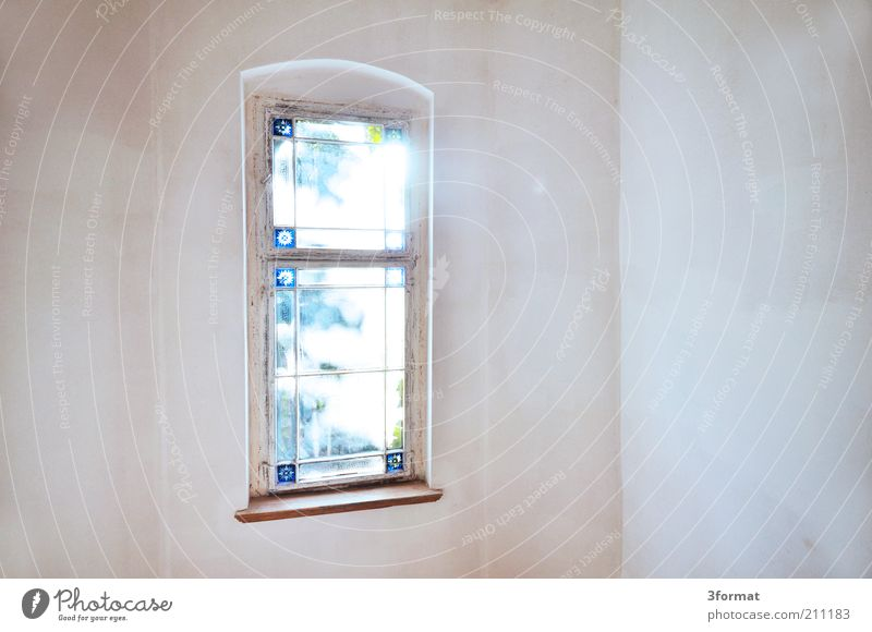 Beautiful Old Calm House (Residential Structure) Wall (building) Window Wall (barrier) Bright Glittering Empty Hope Romance Transience Castle Past Belief